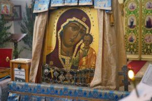Храм посетил посетил крестный ход с Табынской иконой Божией Матери